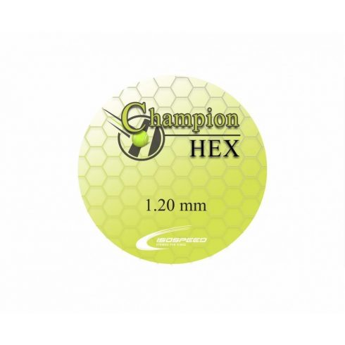 Iso Speed Champion Hex 1,20 12m fekete